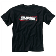 Simpson Logo Tee T Shirt Black