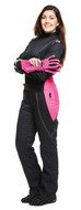 2 LAYER LADIES FEMALE VIXEN 2 II RACE SUIT STD.18 PINK