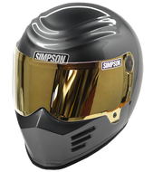 Simpson Outlaw 2 Helmet Snell M2015 Gun Metal Xs-Xxl