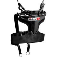 Simpson Hybrid S - 3-Point Belt Compatible Harness Adult head restraint