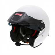 Simpson  Rally Helmet Fia 8859-2015 White M6 Open Face