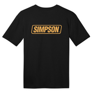 Simpson Gold Logo Tee T Shirt