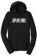 Simpson Burn Out Fleace Hoodie