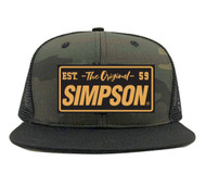 Simpson Camo Hat Baseball Cap