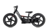 "Revvi Kids / Childrens Electric Bikes  16"" Red Blue Pink Black Green funbike lithium trial mountain off road 5 + years Old"