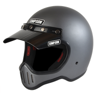 Simpson M50 Motorcycle Helmet Dot Approved Gun Metal
