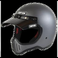 Simpson M50 Motorcycle Helmet Dot Approved Gun Metal