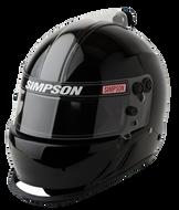 Simpson Air Inforcer Vudo Helmet Snell Sa2015 Msa Hans M6 Xs-Xxl Gloss Black