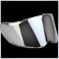 Simpson Ghost Speed Venom Bandit Silver Mirror Visor