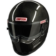 Simpson Carbon Bandit Helmet Snell sa2015 Sa2020 hans racing car