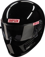 Simpson Bandit Sa2020 Helmet Snell Gloss Black Msa M6  Hans car racing