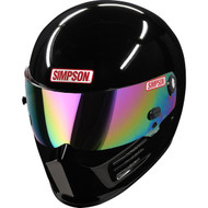 Simpson Bandit Sa2020 Helmet Snell Gloss Black Msa M6  Hans car racing