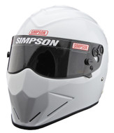 Simpson Diamondback Helmet Snell Sa2020 Gloss White M6 Msa Hans Stig Fia car racing sa2015