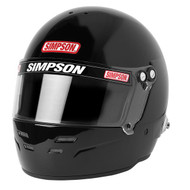 Simpson Viper Helmet Snell Sa2020 Gloss Black car racing