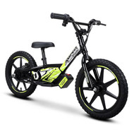 "Amped A16 Revvi Kids / Childrens Electric Bikes  16"" funbike lithium trial mountain off road 4-9 years Old Black"