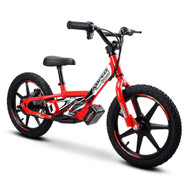"Amped A16 Revvi Kids / Childrens Electric Bikes  16"" funbike lithium trial mountain off road 4-9 years Old Red"