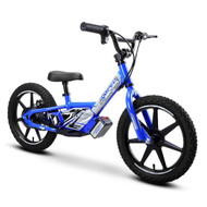 "Amped A16 Revvi Kids / Childrens Electric Bikes  16"" funbike lithium trial mountain off road 4-9 years Old Blue"