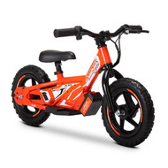 "Amped A10 Revvi Kids / Childrens Electric Bikes  10"" funbike lithium trial mountain off road 2-6 years Old Red"