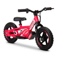 "Amped A10 Revvi Kids / Childrens Electric Bikes  10"" funbike lithium trial mountain off road 2-6 years Old Pink"