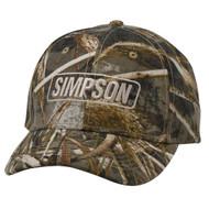 Simpson Camo Max Hat Baseball Cap