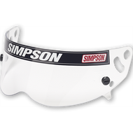 Simpson Helmet Clear Visor  for Bandit sa2005/2015, Super Bandit & old Sa2005 Diamondback