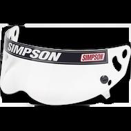 Simpson Helmet Clear Visor  for Bandit sa2005/2015, Super Bandit & old Sa2005 Diamondback