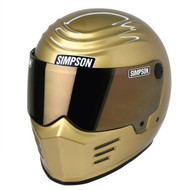 Simpson Outlaw 2 Helmet Snell M2015 Gold Xs-Xxl