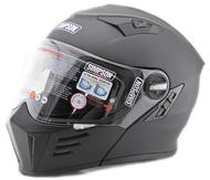 Simpson Darksome Flip Up Mod Helmet Matt Black