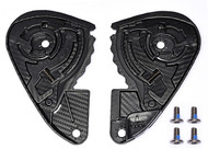Simpson Ghost Speed Venom Bandit  Visor side plates set pair