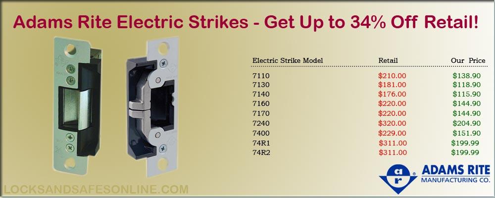 Adams Rite Electrc Strikes