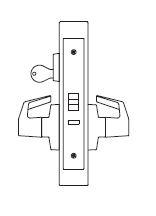 PDQ MR113 Grade 1 Holdback Single Cylinder Mortise Locks JE