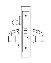 PDQ MR115 Grade 1 Single Cylinder Storeroom mortise locks fe