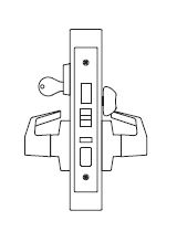 PDQ MR117 Grade 1 Single Cylinder Front Door Mortise Locks FE