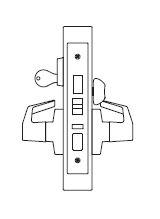 PDQ MR117 Grade 1 Single Cylinder Front Door Mortise Locks