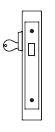 PDQ MR131 Single Cylinder Deadbolt Mortise Locks