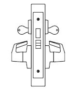 PDQ MR137 Grade 1 Double Cylinder Store Door Mortise Locks