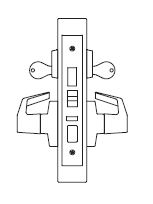 PDQ MR158 Grade 1 Double Cylinder Dormitory Mortise Locks FE