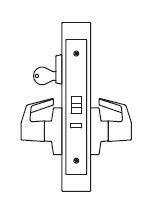 PDQ MR199A Grade 1 Single Cylinder Electrified Storeroom Mortise Locks JE