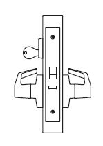 PDQ MR199A Grade 1 Single Cylinder ELectrified Storeroom Mortise Locks JW