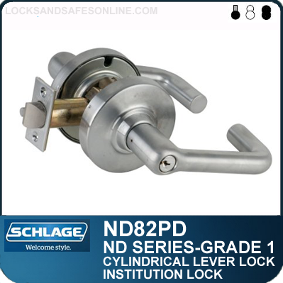 Schlage commercial ND85PDATH613 ND Series Grade 1 Cylindrical Lock Athens Lever Design Oil Rubbed Bronze Finish Faculty Restroom Function
