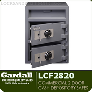 Double Door Cash Depository Safes | Commercial Light Duty Depository Safes | Gardall LCF2820