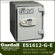 Single Shelf Vertical UL 1 Hour Microwave Fire Safes | Gardall SS1612-G-CK / ES1612-G-E