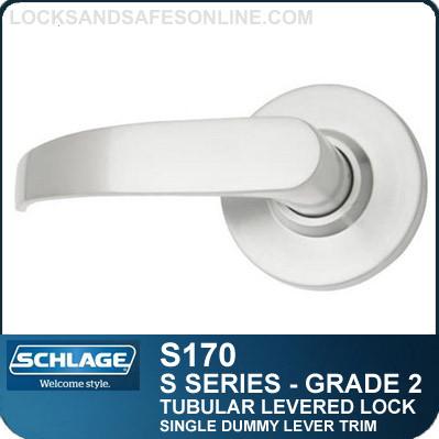 Schlage S10D NEP 626 S Series Passage Latch Zinc Schlage Lock Company