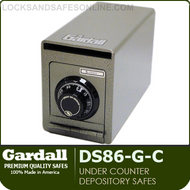 Heavy Duty Under Counter Depository Safes |Compact Utility Safes | Gardall DS86-G/TC1206-G/DS1210-G