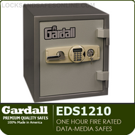 Data Media Safes | One Hour Fire Rated | Gardall EDS1210-G-EK | Gardall EDS2214-G-EK