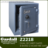 Dual Security Safes | Gardall B Rated 2 Hour Fire Safes