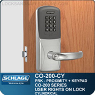 Standalone Proximity Locks with Keypad | Schlage CO-200-Cylindrical
