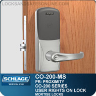 Standalone Proximity Locks | Schlage CO-200-Mortise