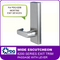 PDQ 6200 Wide Escutcheon Trim - Passage with Lever - For Mortise Exit Devices