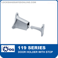PDQ 119 Series Door Holder with Stop